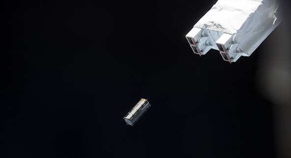TuPod, 3d printed satellite, international space station, crp usa, tetonsys