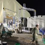 3d printed barracks, US Marines, US special forces, concrete 3d printer, new warfare, 3d printing technology